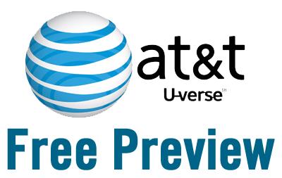 att uverse free preview