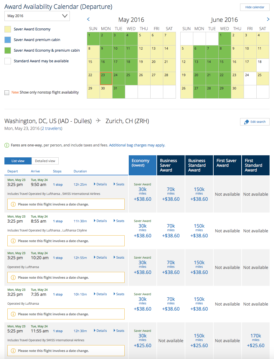How To Book A United Airlines International Business First Class