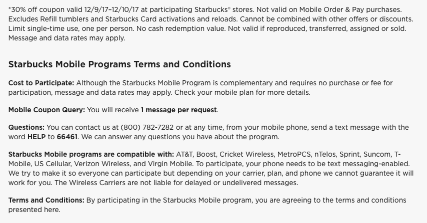 30% Off Starbucks This Weekend - Savings Beagle
