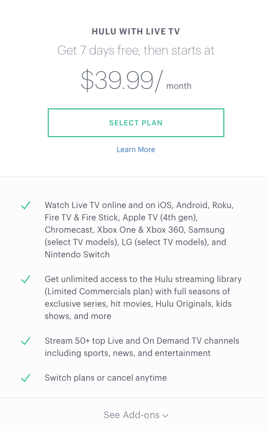 This Hulu Amex Offer Makes the Service Almost Free - Savings