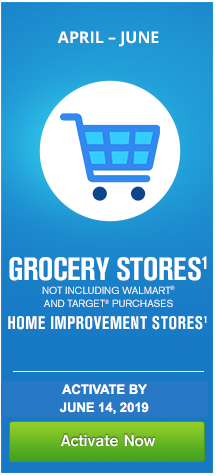 The Chase Freedom Credit Card's Q2 Bonus Categories - Grocery and