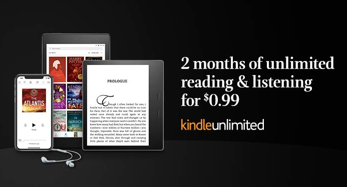 Amazon is Offering a 2-Month Kindle Unlimited Subscription