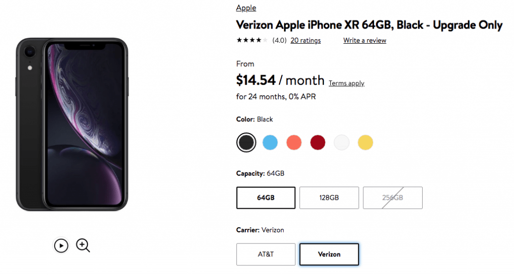 Walmart Offering An Iphone Xr Upgrade Deal For Verizon And At T Customers Savings Beagle